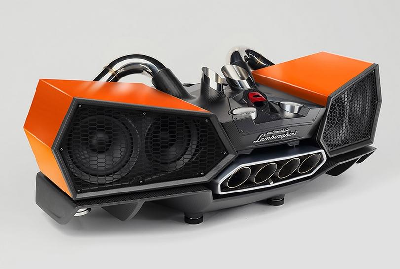 EsaVox: los espectaculares altavoces inspirados en el Lamborghini Aventador