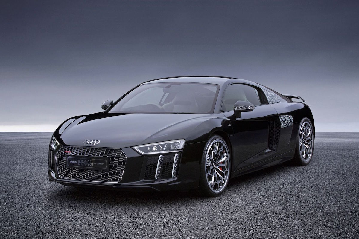 "Star of Lucis: un espectacular Audi R8 Plus para promocionar ""Final Fantasy XV: Kingsglaive"""