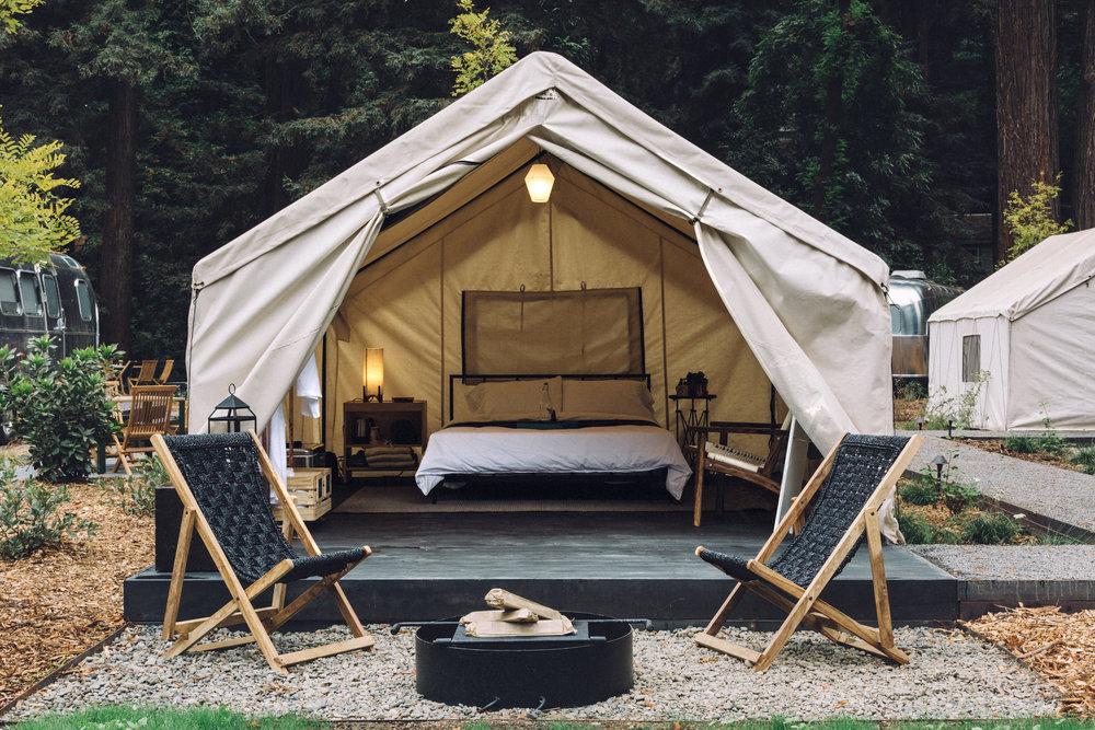 Autocamp un camping de lujo en san francisco vayalujo - Camping de lujo en espana ...