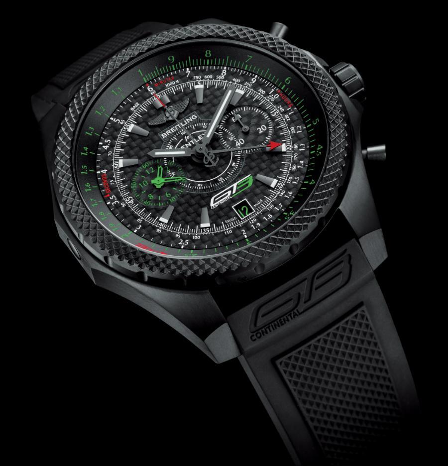 Bentley GT3, el cronógrafo más deportivo de Breitling