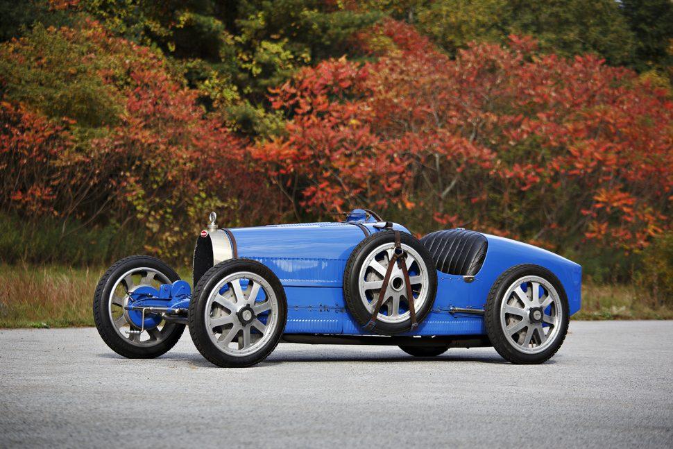 A subasta este espectacular Bugatti Type 35 Grand Prix de 1925