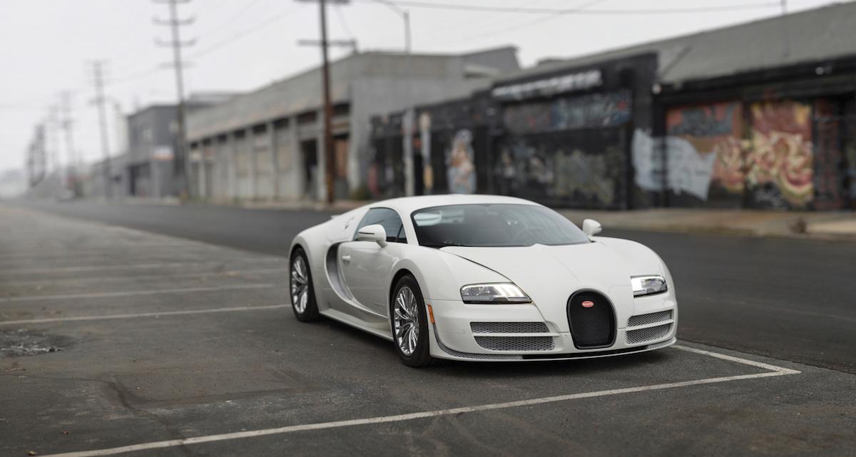 Sale a subasta el último Bugatti Veyron 16.4 Super Sport Coupé