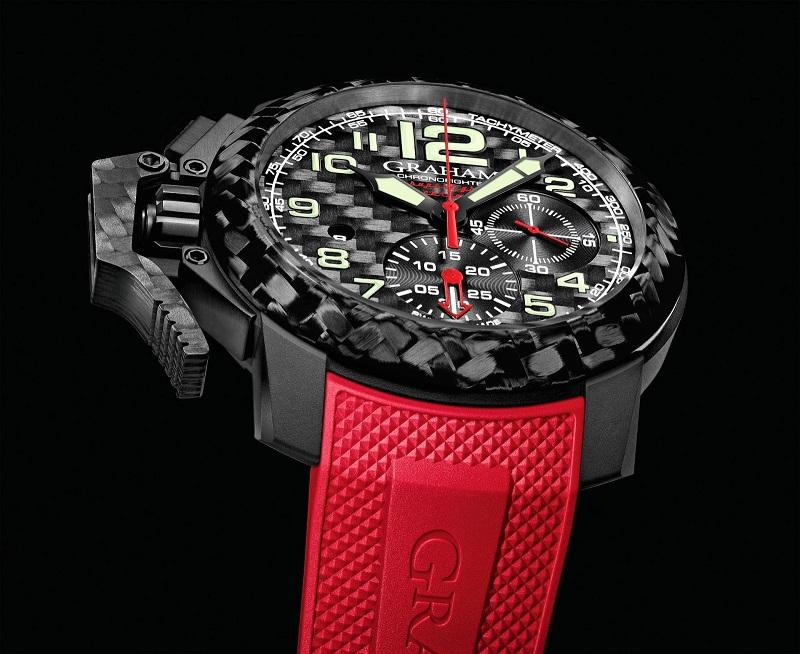 94b23ceeaadd La manufactura británica de relojes de lujo Graham nos presenta el  Chronofighter Oversize Superlight Carbon. Se trata del primer reloj de la  línea ...