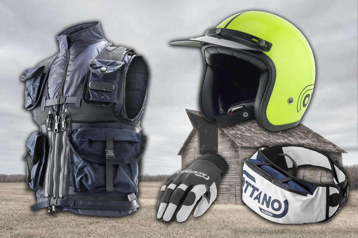 Acerbis presenta su nueva colección Ottano para los motoristas
