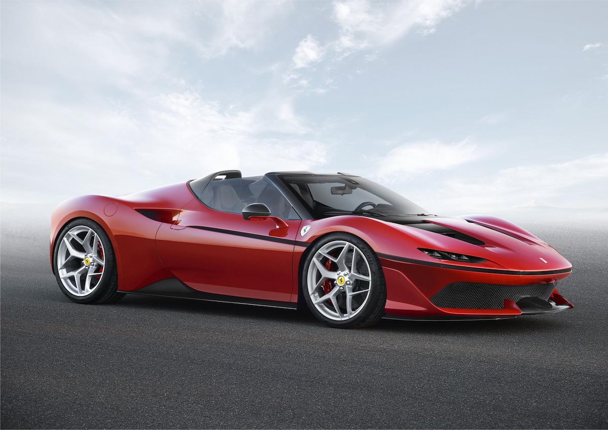 Ferrari J50: el biplaza más exclusivo del fabricante italiano
