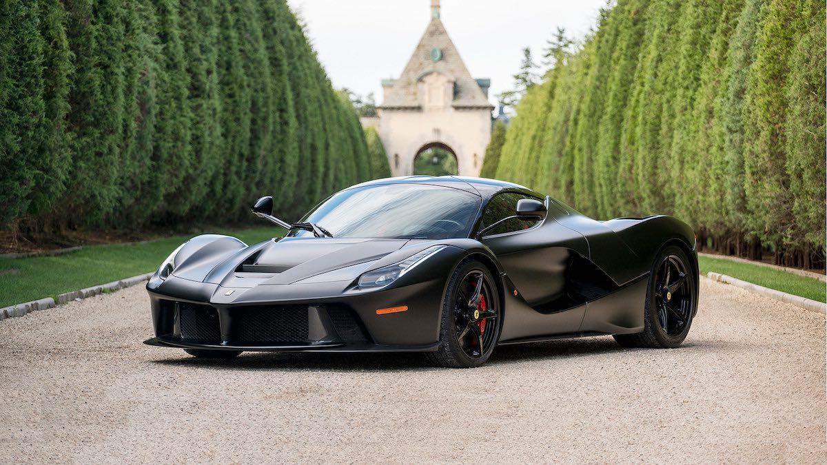"Un Ferrari LaFerrari ""Cavallo Infernale"" subastado por 4,1 millones de euros"