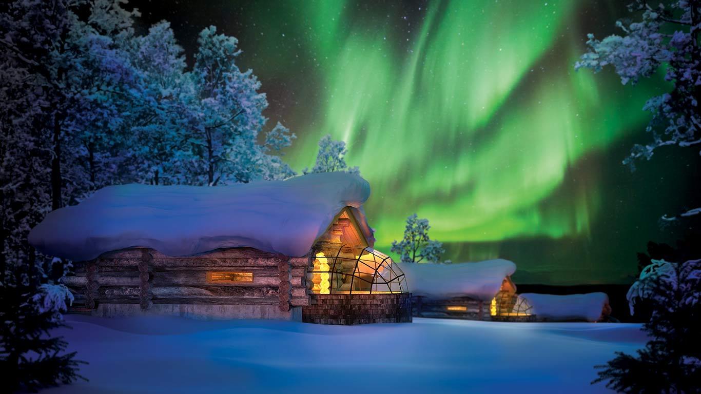Hotel Kakslauttanen: el lugar más fascinante para pasar tus vacaciones de Navidad