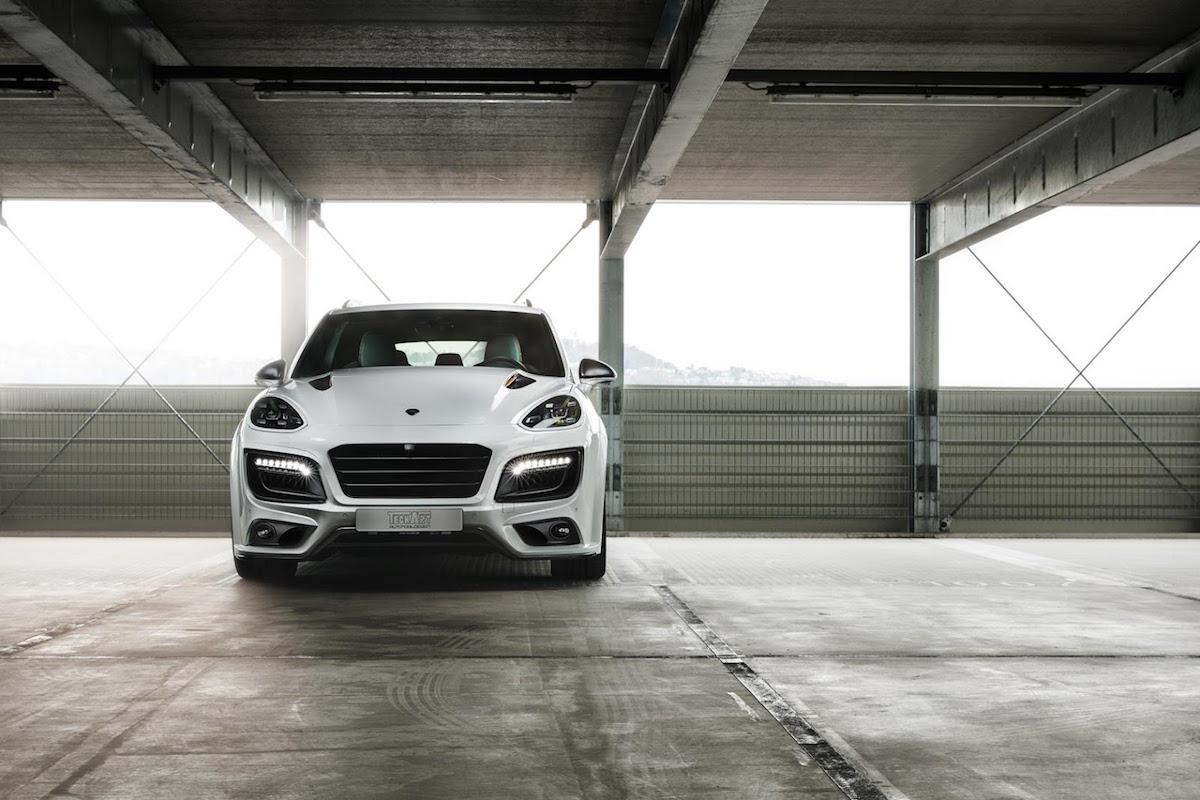 Porsche Cayenne Magnum Sport por TechArt