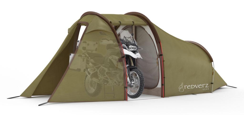 Redverz Solo Expedition: la original tienda de campaña para dormir junto a tu moto