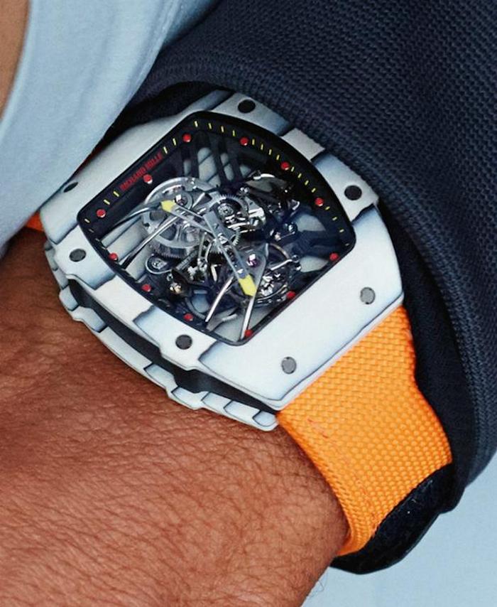 Richard Mille Tourbillon RM 27-02: el reloj preferido de Rafael Nadal