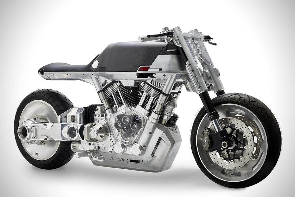 Vanguard Roadster: la moto más futurista del año
