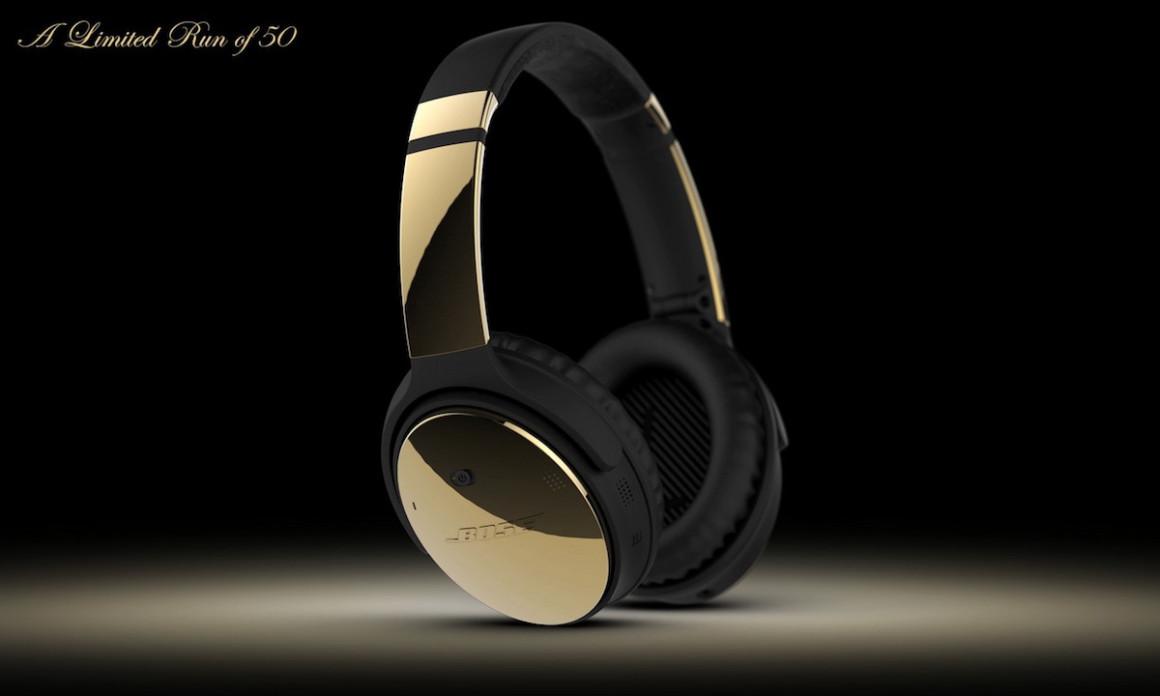 Colorware lanza una edición especial de los Auriculares Bose QC35 en ORO de 24K