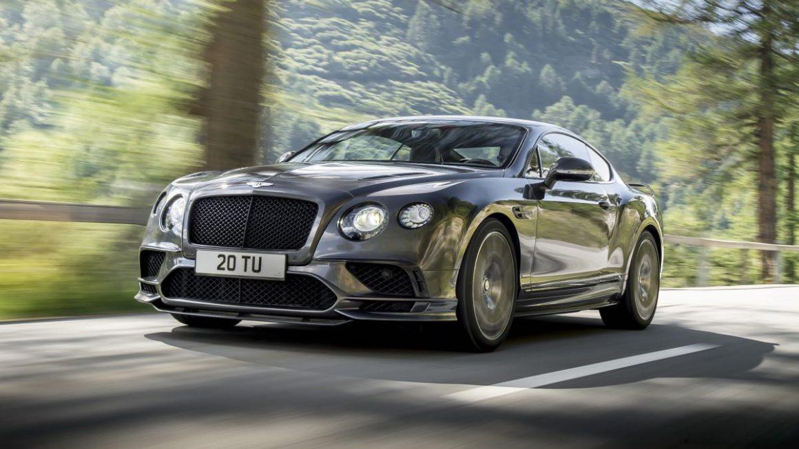 Continental Supersports 2017, el Bentley más potente y rápido del planeta