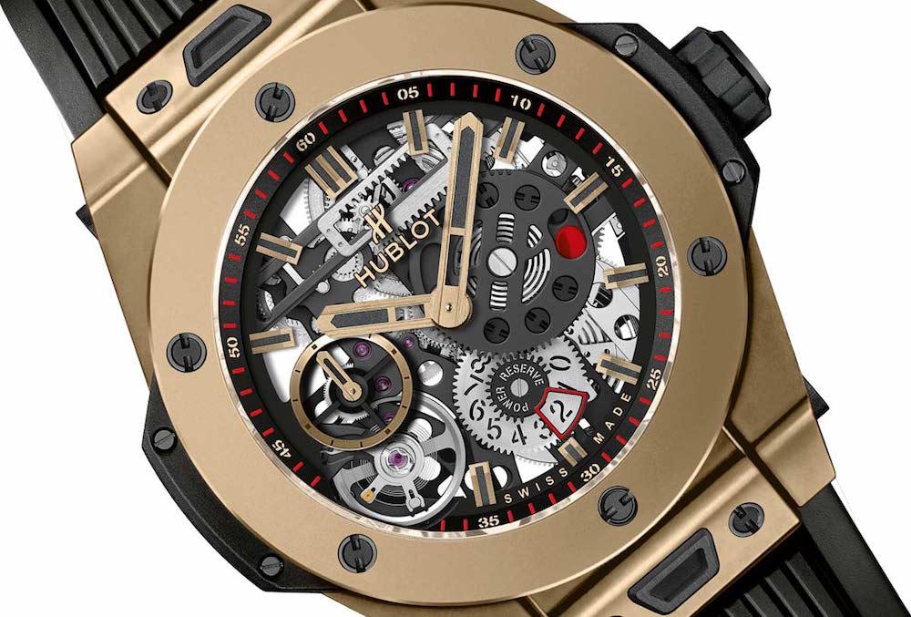 """Big Bang Meca-10 Magic Gold: el reloj """"mágico"""" de Hublot"""
