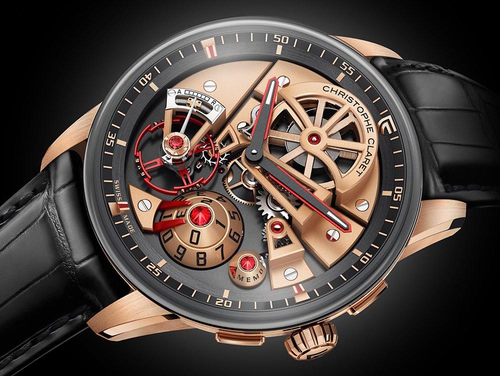 Christophe Claret Maestro: un exclusivo reloj con vista panorámica