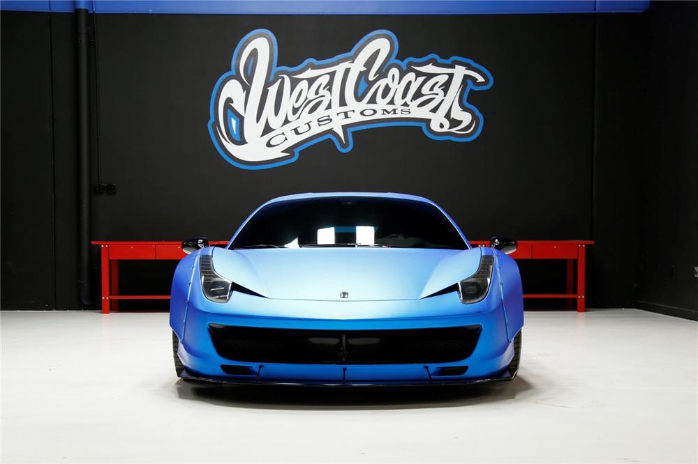 El Ferrari 458 Italia de Justin Bieber, a subasta