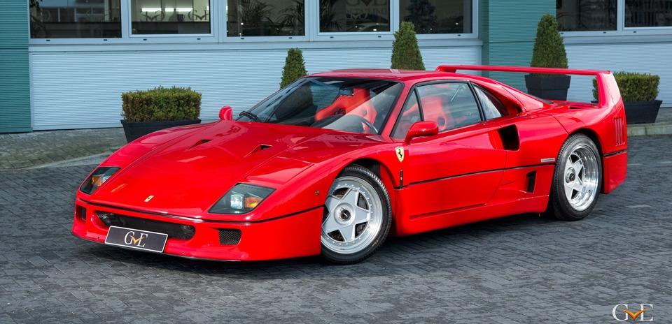 El Ferrari F40 que perteneció a Eric Clapton, a la venta por más de 1 millón de euros