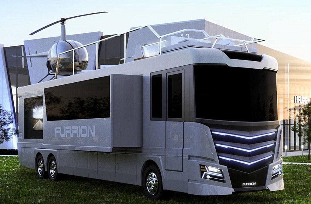 Furrion Elysium: la motorhome más lujosa del mundo