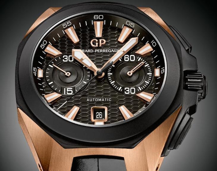 Girard-Perregaux Chrono Hawk Pink Gold: el reloj deportivo más dorado