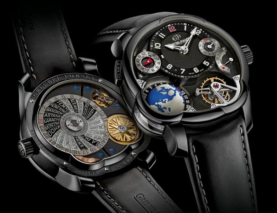 Greubel Forsey GMT Platinum Black Dial: un exclusivo reloj de más de 500.000 €