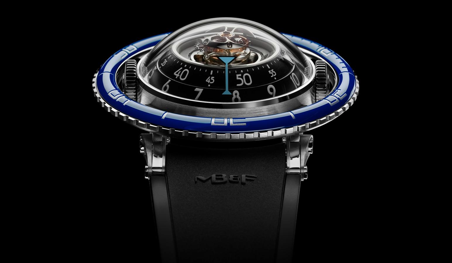 HM7 Aquapod: el reloj de MB&F inspirado en las medusas
