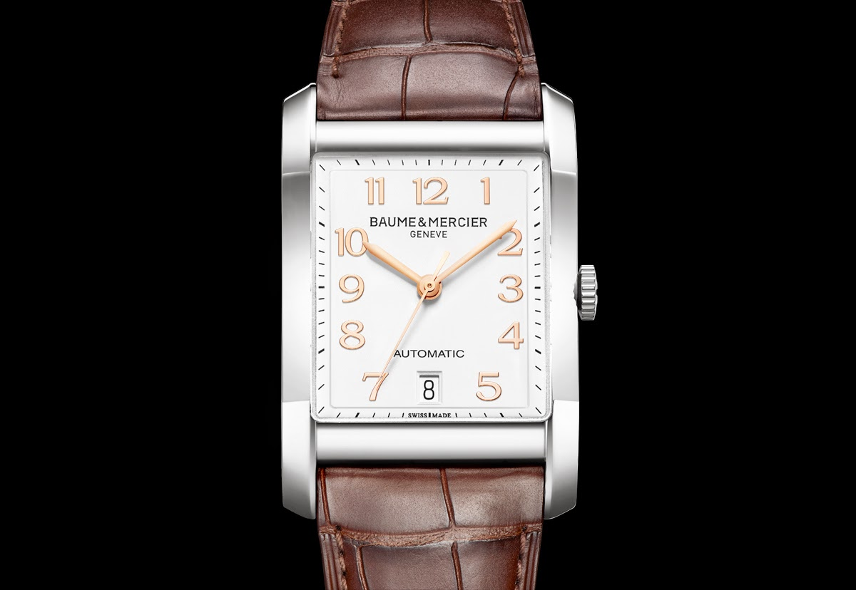 Hampton 10156: el nuevo reloj de lujo de Baume & Mercier