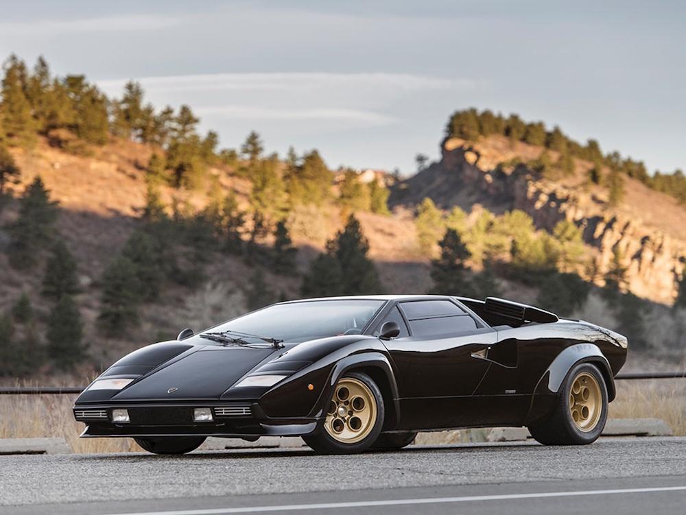 Un espectacular Lamborghini Countach de 1979 será subastado por RM Sotheby's
