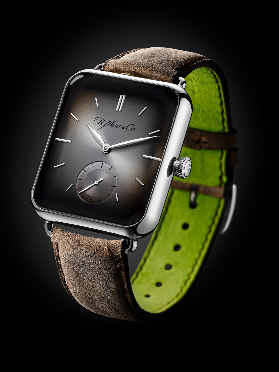 Moser Swiss Alp Watch S: la versión mecánica del Apple Watch
