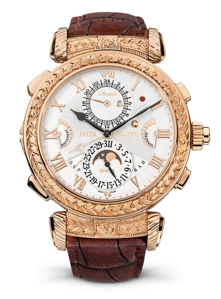 Grandmaster Chime de Patek Philippe: un reloj de pulsera digno de un Rey