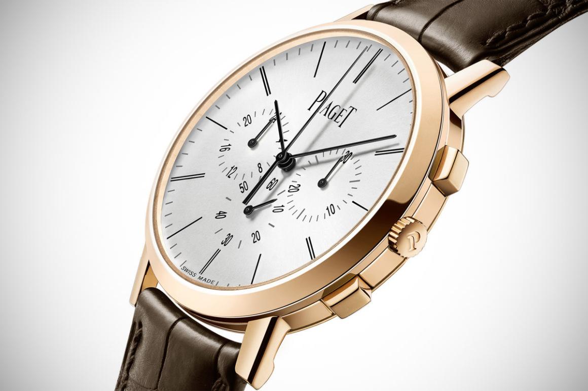 Piaget Altiplano: el reloj cronógrafo de cuerda manual más plano del mundo