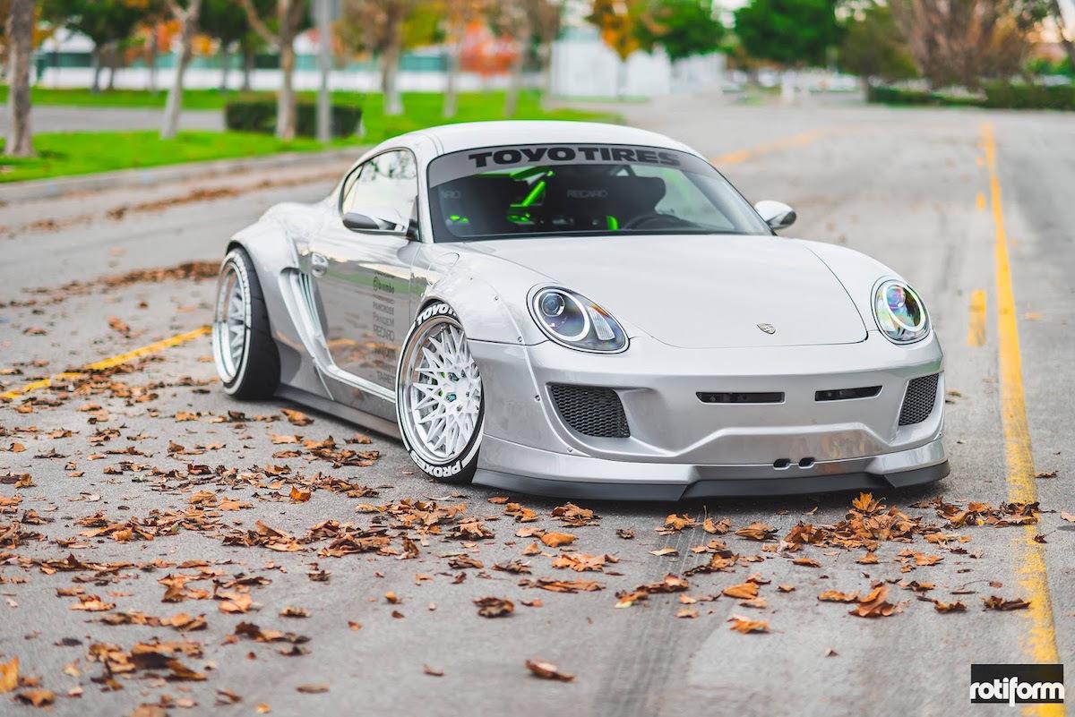 El Porsche Cayman más espectacular de la historia