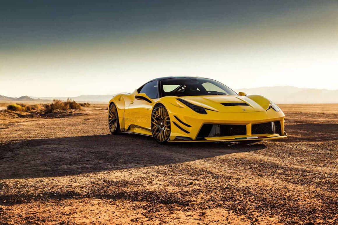 Prior Design presenta esta espectacular versión del Ferrari 458 Italia