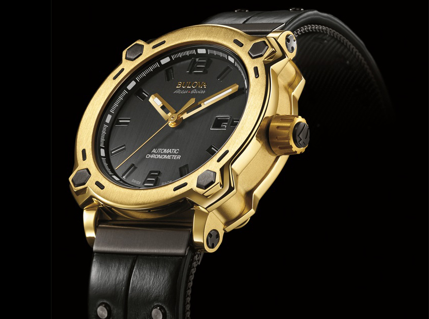 Bulova impresiona con el primer reloj fabricado con oro de 24 kilates