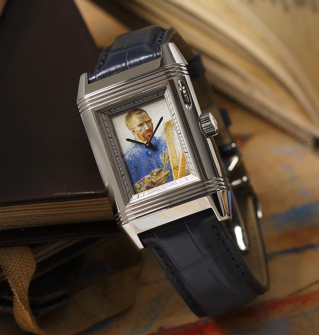 Reverso à Eclipse Homenaje a Van Gogh, más que un reloj, una auténtica obra de arte