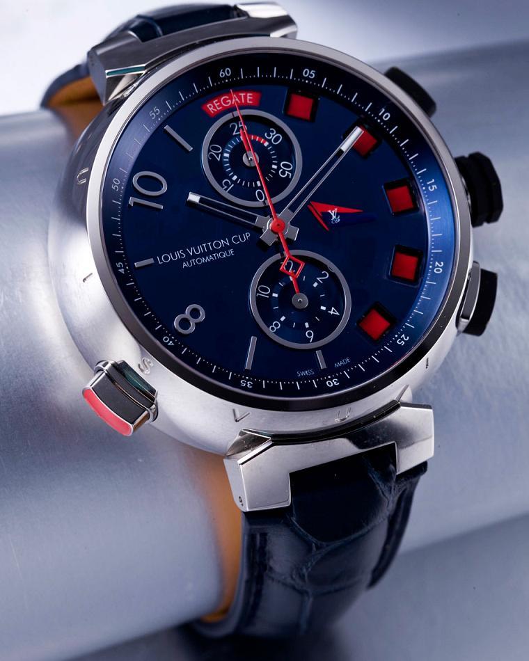 Tambour Spin Time Regatta Edición Titanio de Louis Vuitton: uno de los mejores relojes para navegar