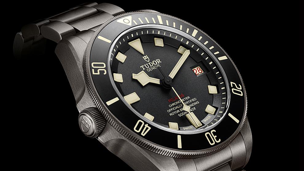 ab2f7a497e9b Tudor Pelagos LHD  el reloj especialmente diseñado para zurdos • Vayalujo