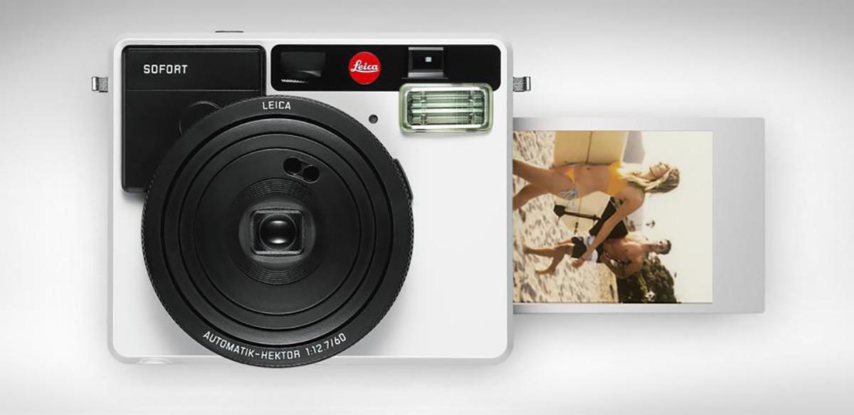 Sofort: la primera cámara instantánea de Leica, llega con aire retro