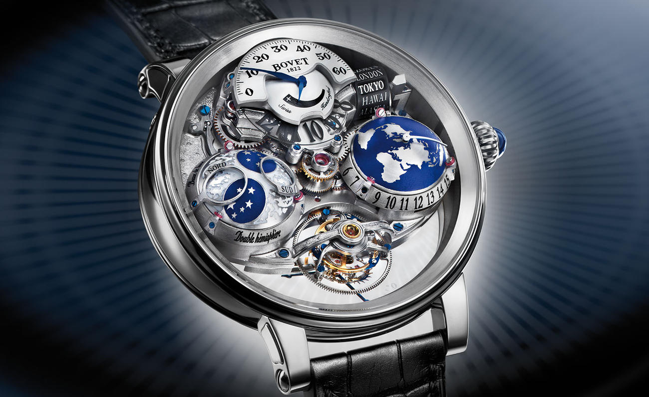 Bovet Récital 18 The Shooting Star, el Universo en la muñeca