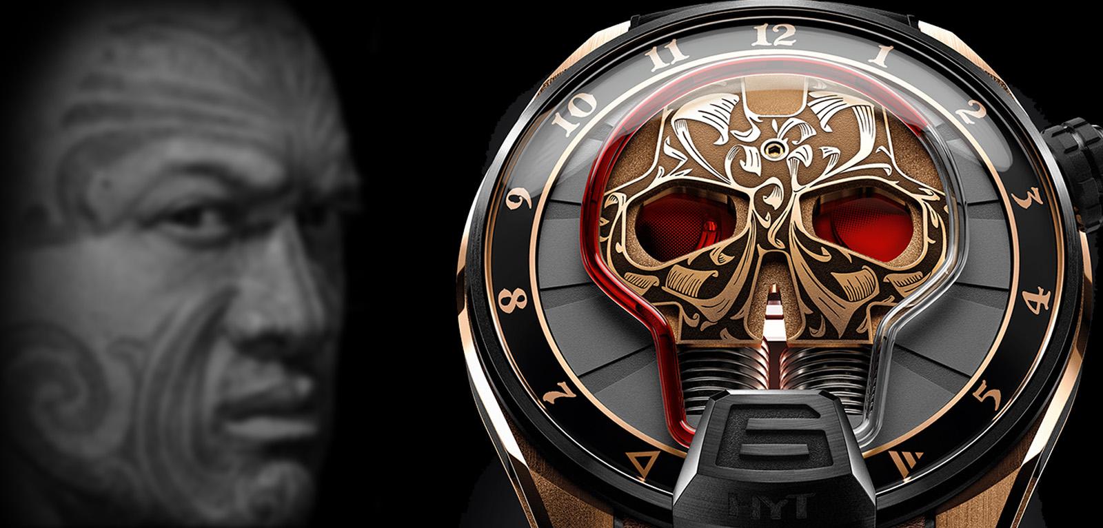 HYT Skull Maori: te enseña la hora a través de los ojos de una calavera