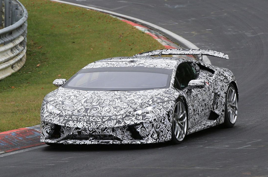 El rapidísimo Lamborghini Huracán Performante se presentará en Ginebra