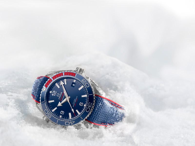 Omega Seamaster Planet Ocean PyeongChang 2018, el reloj de los próximos Juegos Olímpicos de Invierno