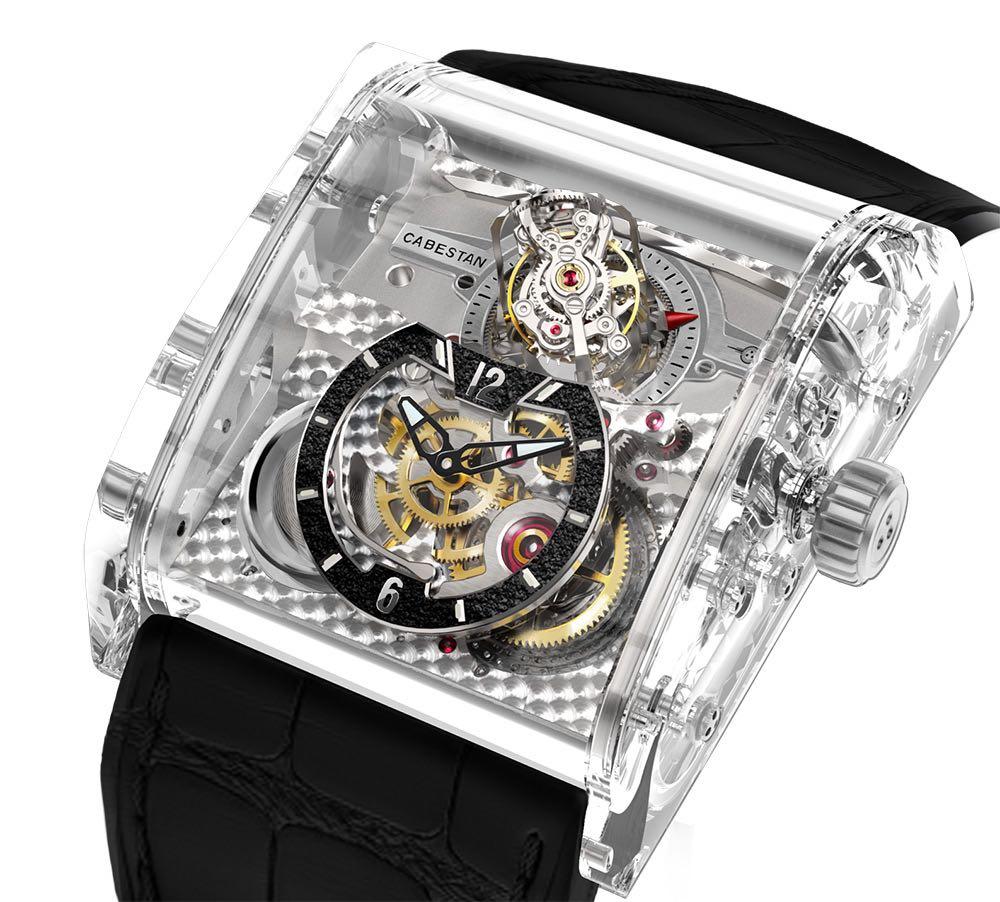 Triple Axis Tourbillon Full Sapphire de Cabestan, el reloj hecho totalmente de zafiro