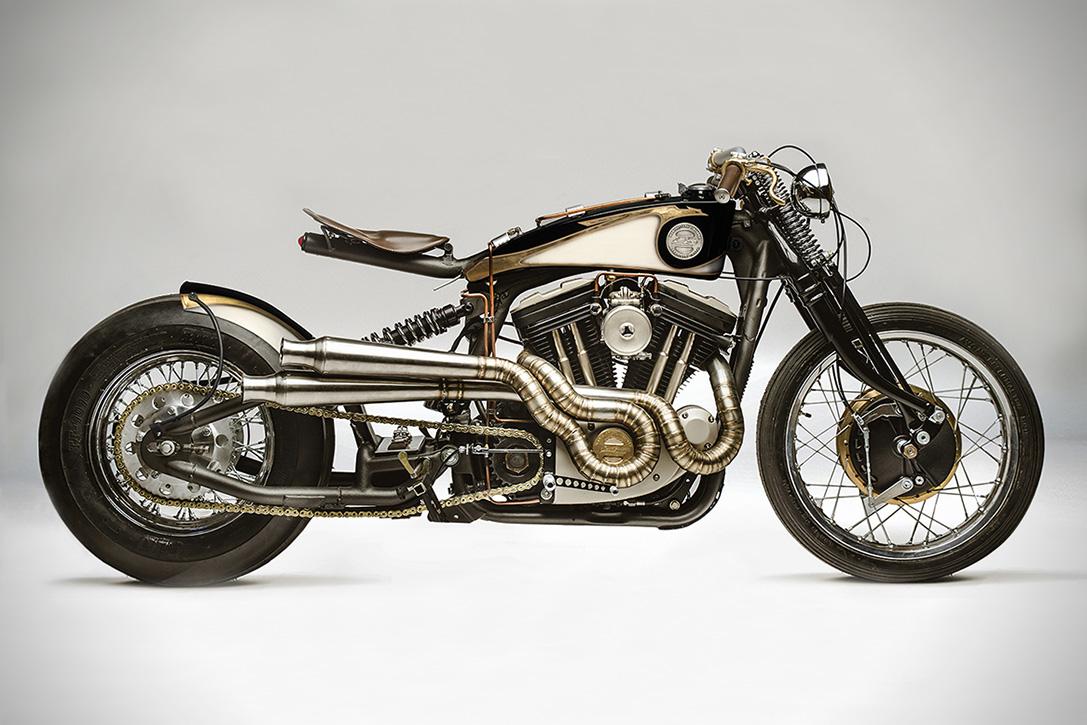 Harley Davidson Sportster 883 Opera, una espectacular motocicleta preparada por South Garage