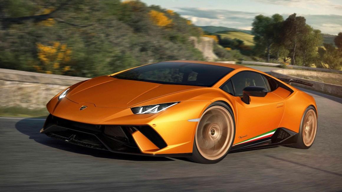 El nuevo Lamborghini Huracán Performante hace su puesta de largo en el Salón de Ginebra