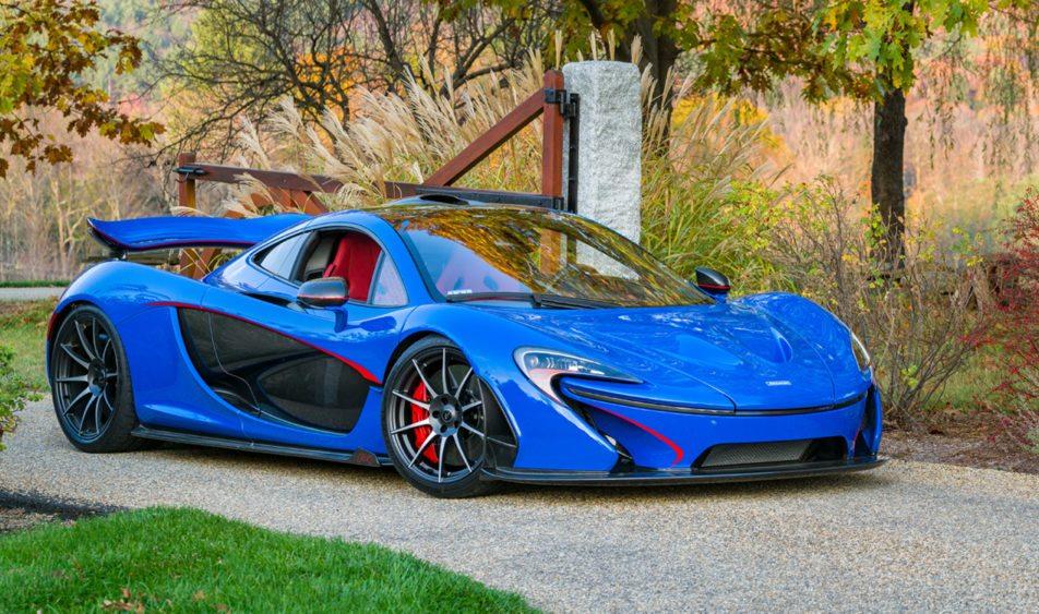 """""""The Professor"""", el McLaren P1 más caro de la historia"""