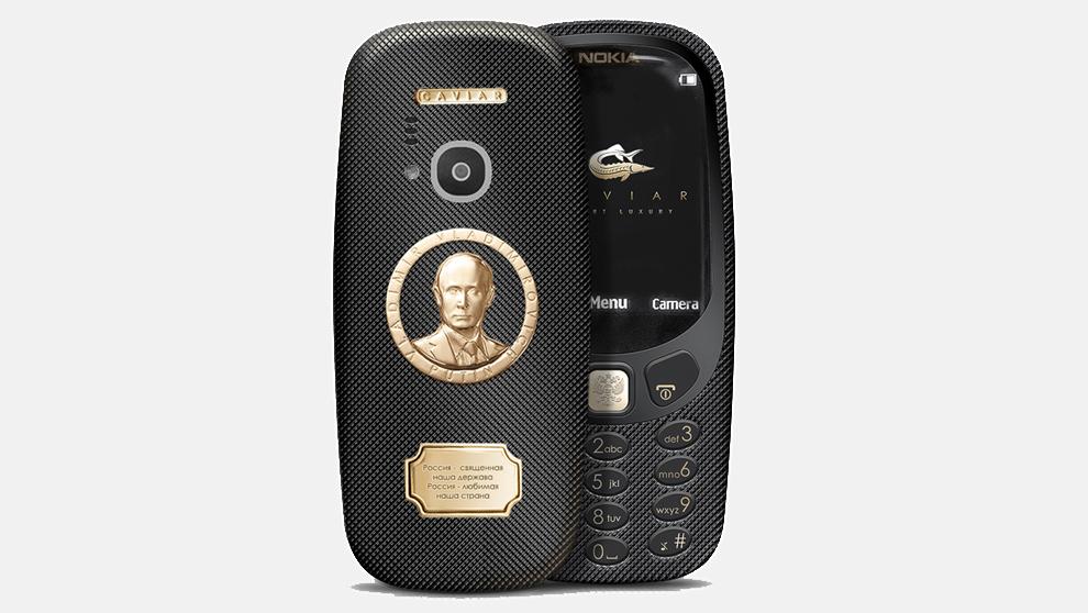 Nokia 3310 Supremo Putin, el smartphone que seduce a los millonarios rusos