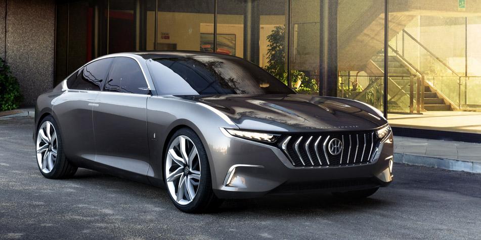 Pininfarina H600, un sedán de lujo eléctrico para competir con Tesla