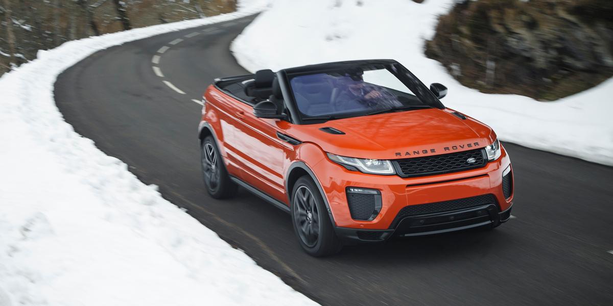 Range Rover Evoque Convertible,  el primer SUV descapotable que sale al mercado