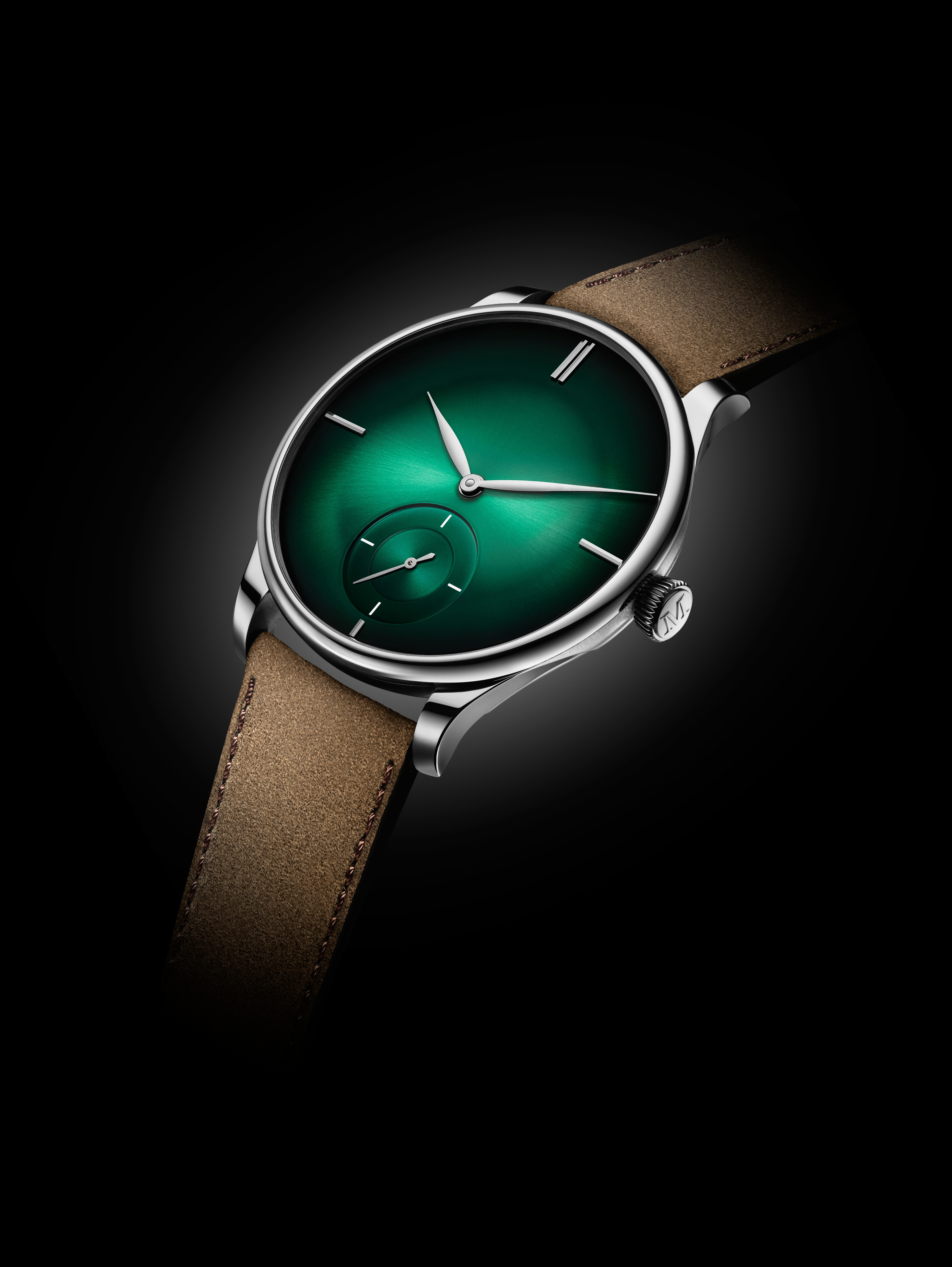 Venturer Small Seconds XL Purity: verde, el nuevo lujo de H. Moser & Cie