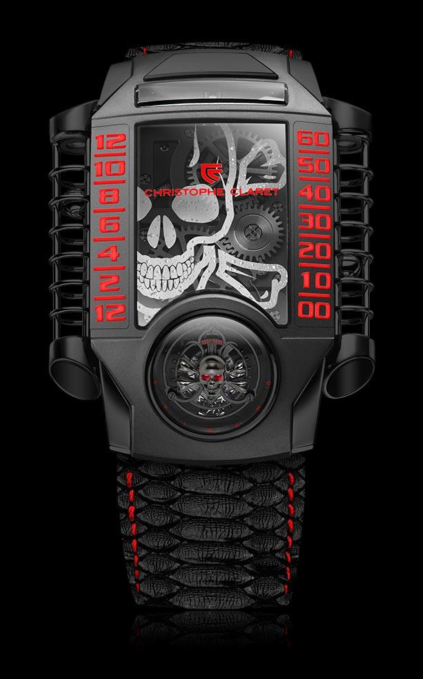 X-TREM-1 StingHD, el reloj-calavera de Christophe Claret